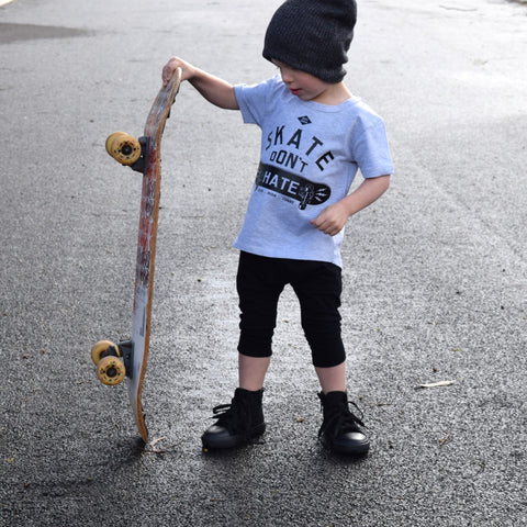 Little Lords - Skate Don't Hate Tee - Groms HQ