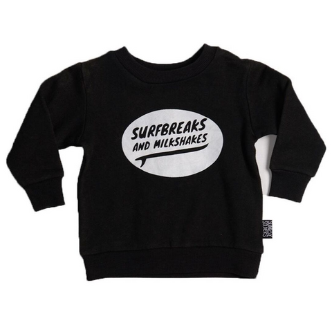 Sunday Soldiers - Surfbreaks and Milkshakes Fleece Sweater - Groms HQ