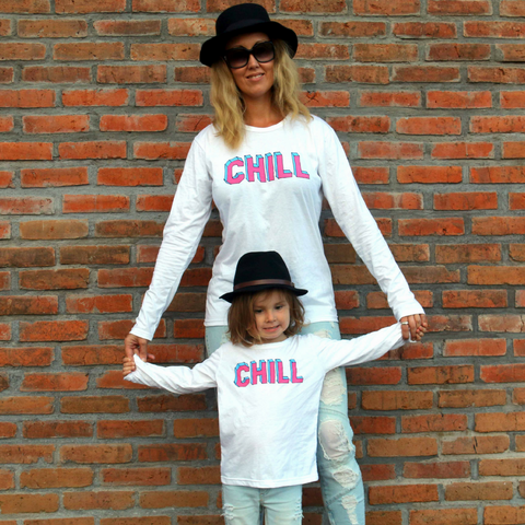 Brave & Fearless - Chill White Long Sleeve Tee - Groms HQ