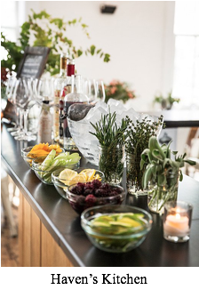 Let Guests Make Their Own Drinks - Holiday Entertaining Tips