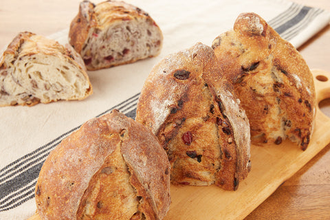 Pain au Levain cranberry-walnut H&F Bread Co.com