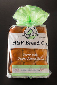 Buttermilk Parker House Rolls
