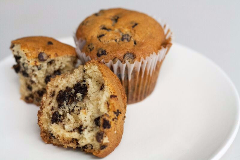 chocolate chip muffin - small