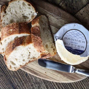 Banner Butter - Sea Salt available at H&F Bread Co