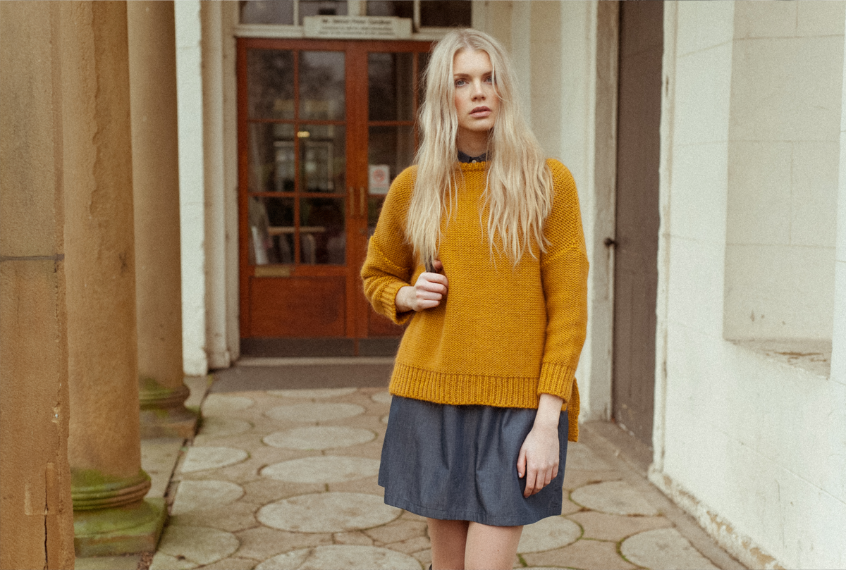 AW16 | FAYE-MARIE Mohair Knitted Jumper