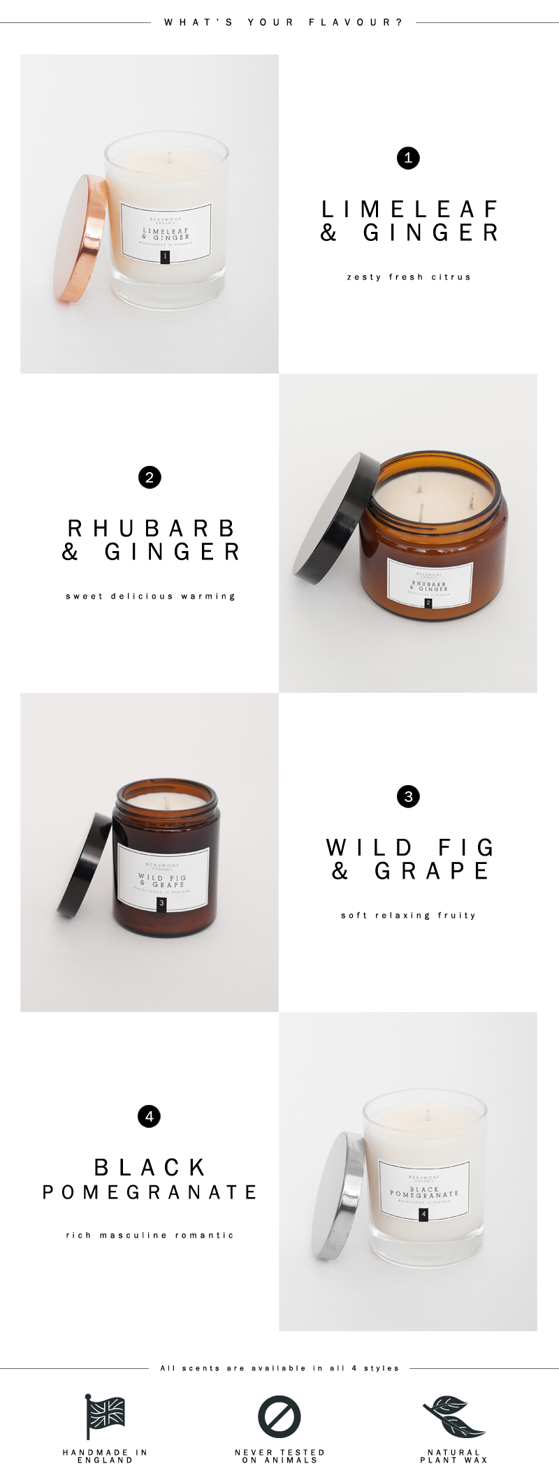 Beaumont Organic | Luxury Candles