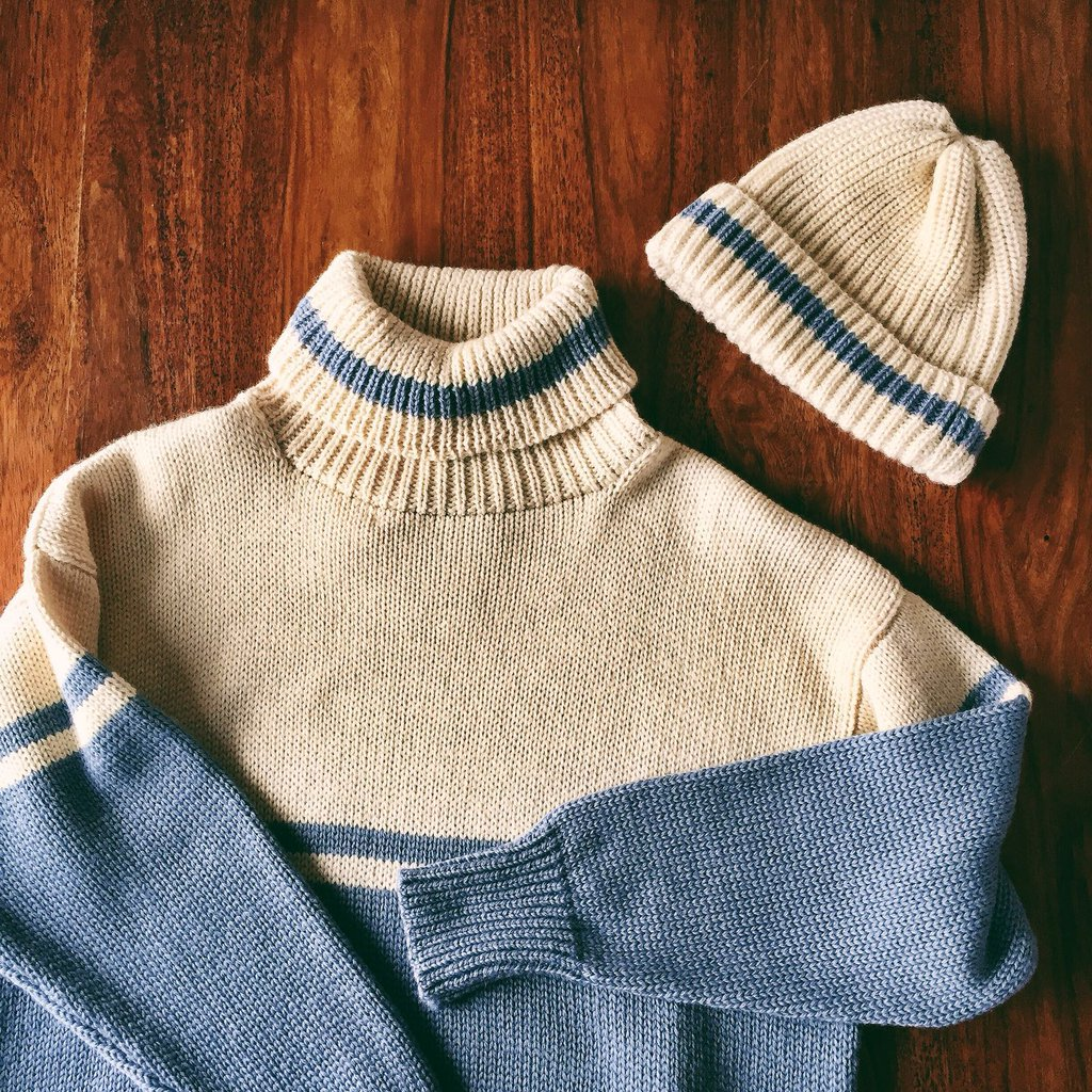 100% Wool Jumper & Hat by Beaumont Organic A/W16
