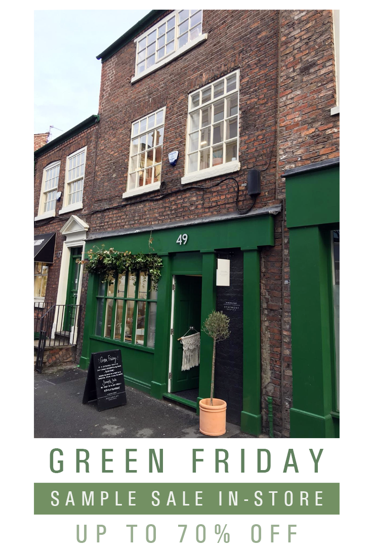 Our Green Weekend - Sample Sale at 49 Hilton Street