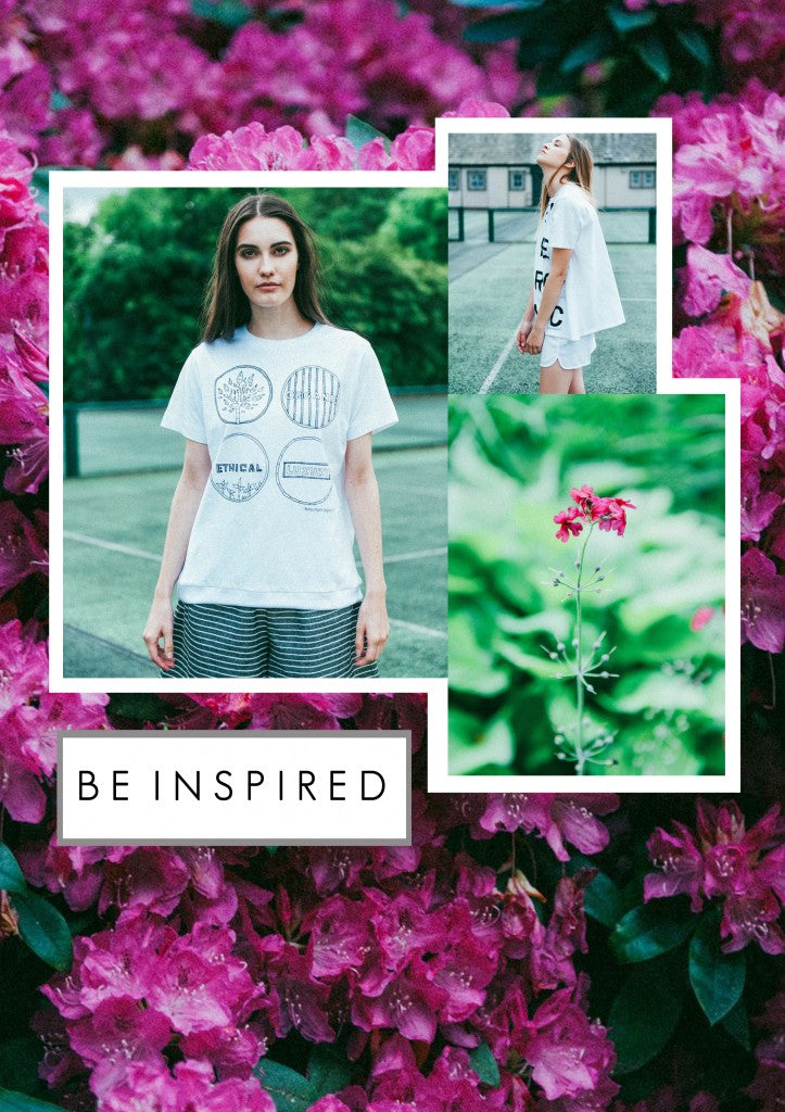 Be inspired beaumont organic t shirts