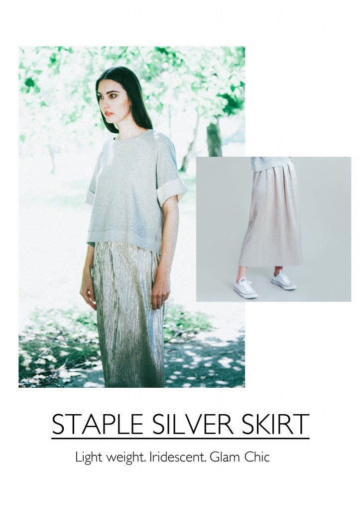 Silver Skirt Beaumont Organic