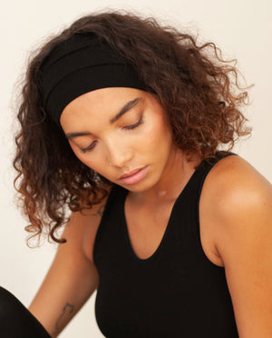 AHYOKA Tube Headband Black