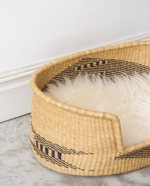 AZA Handwoven Dog Basket