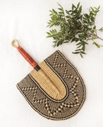 Afreya-Beaumont-Organic-Straw-Hand-Fan-With-Leather-handle