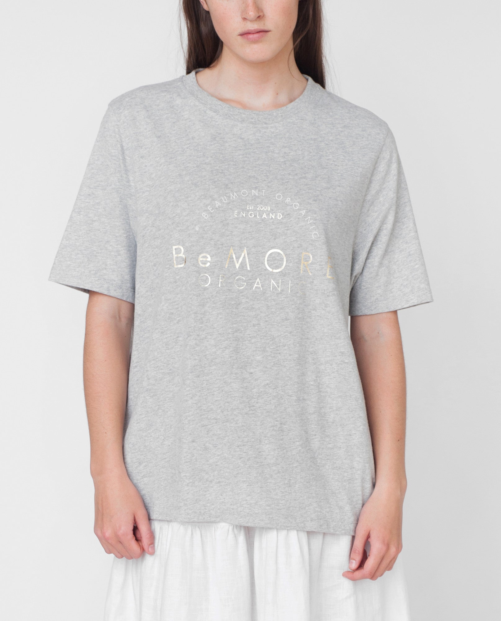 ANNIE Organic Cotton Print Tshirt from Beaumont Organic