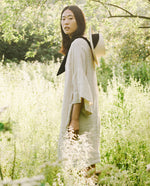Bee-May Linen Dress In Bone