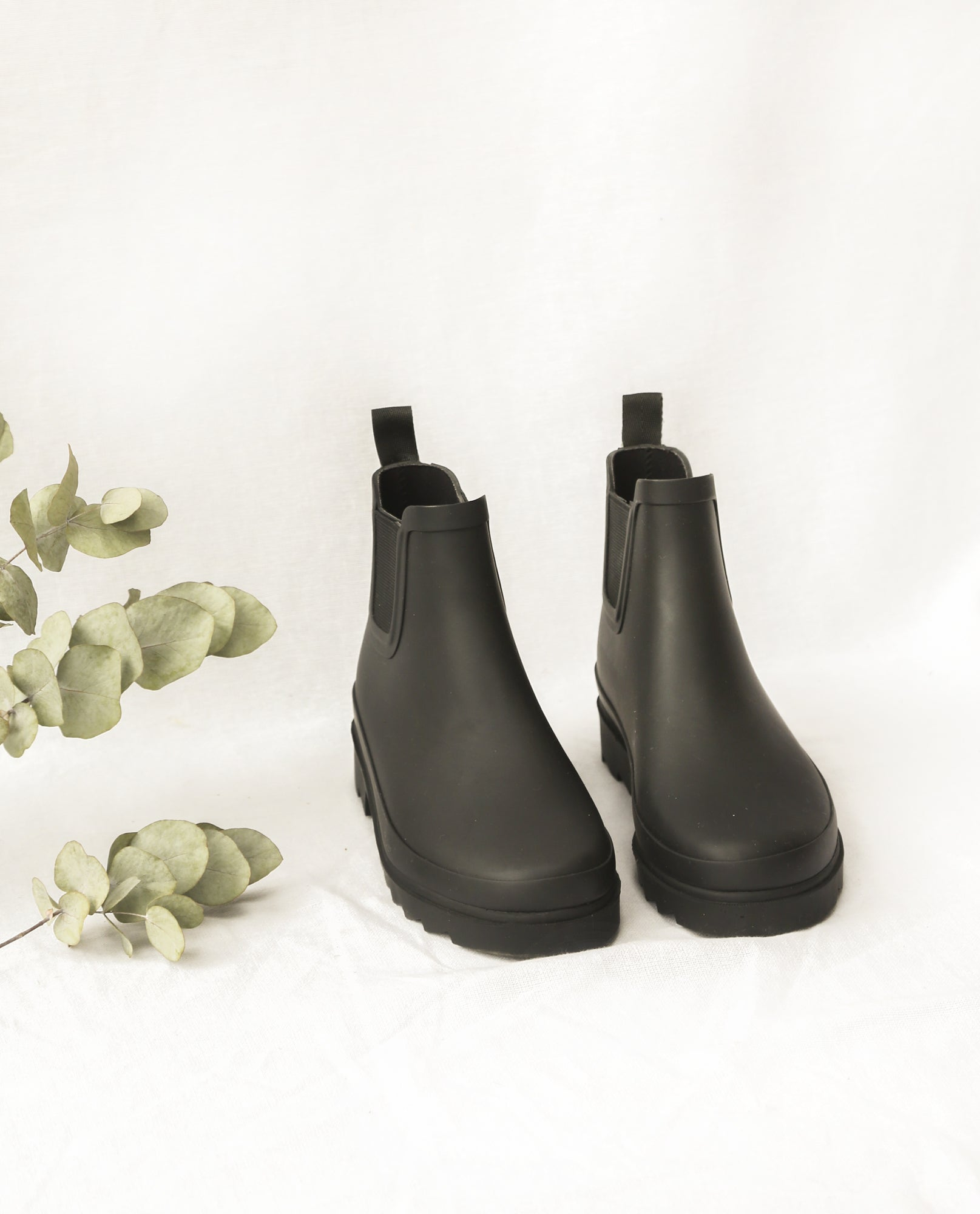 Brooke Welly Boots In Black