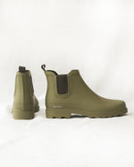 Brooke Welly Boots In Olive