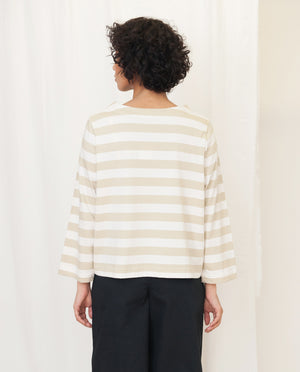BABI Organic Cotton Top In Stone