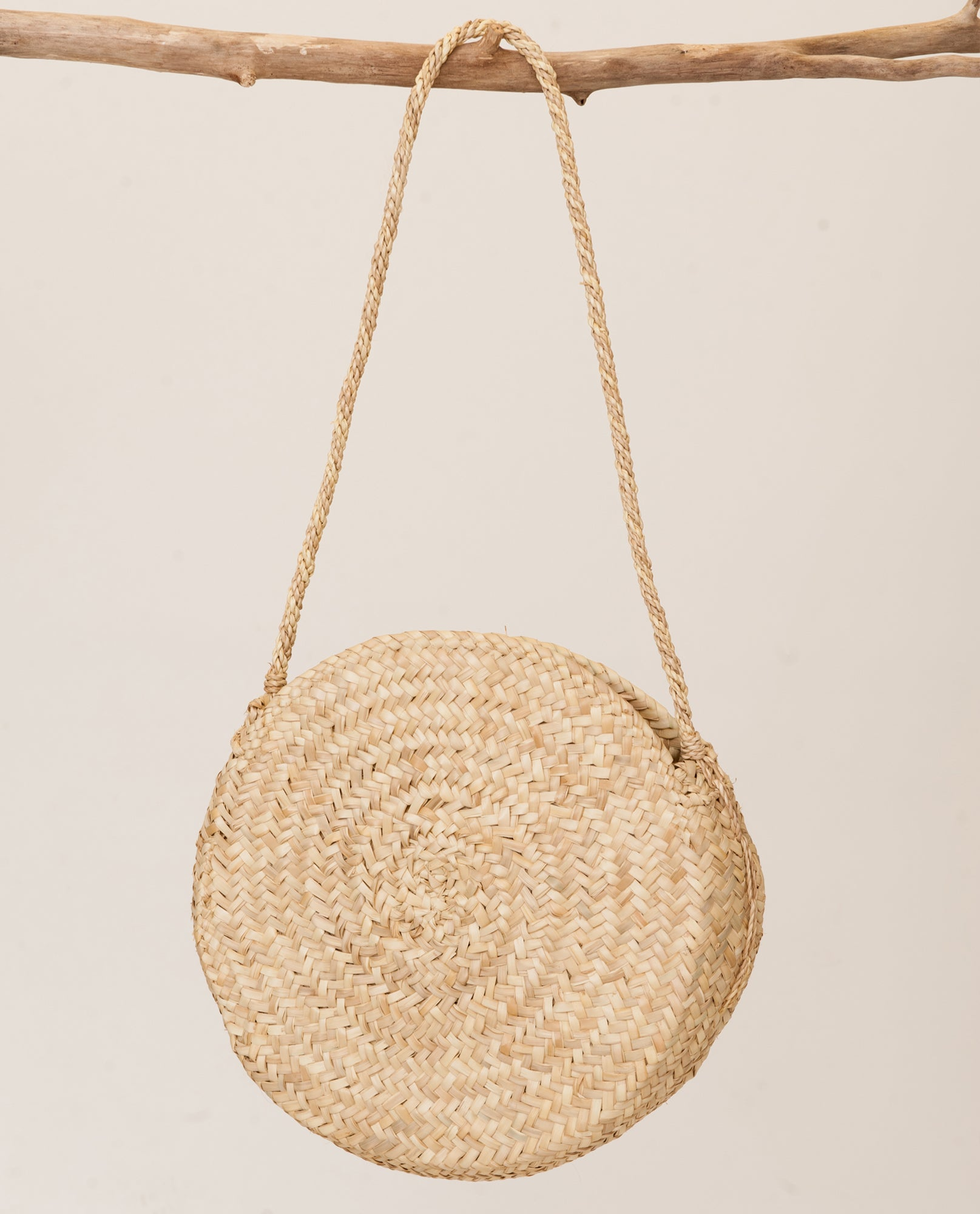 Circle Long Strap Basket