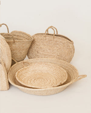 Large Shallow Basket