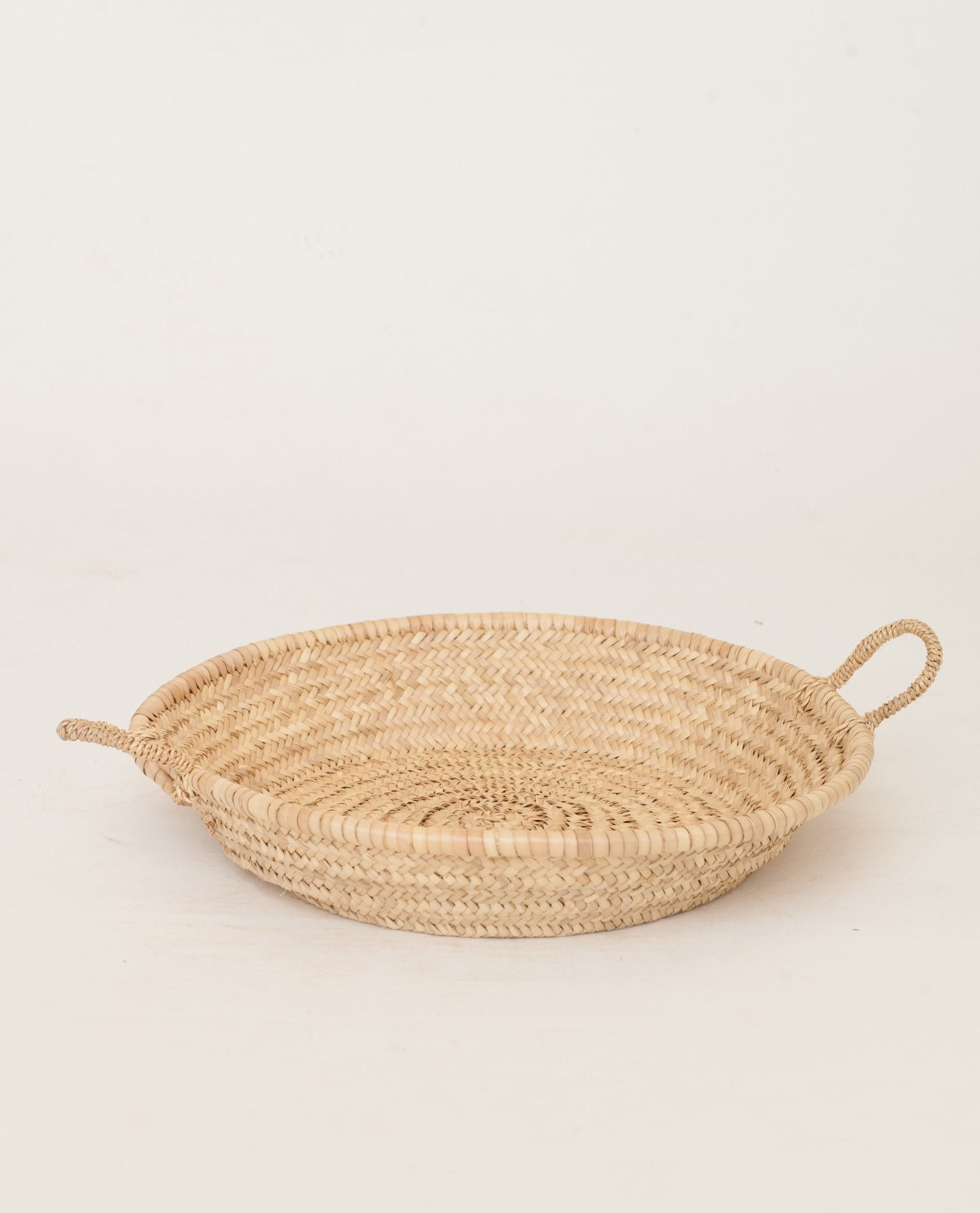 Small Shallow Basket