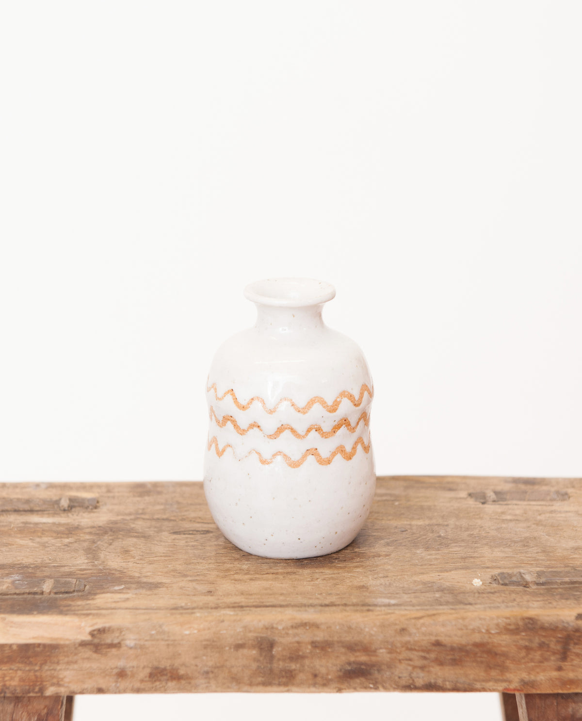 Wave Stripe Bud Vase