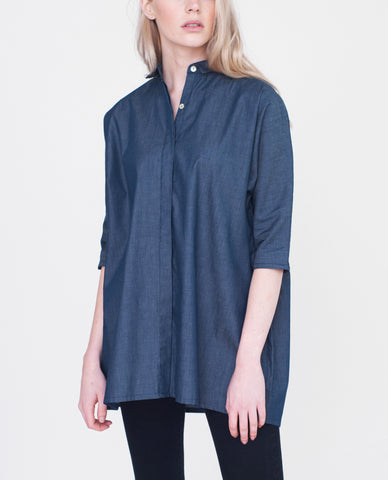 BLAINE Cotton Denim Shirt