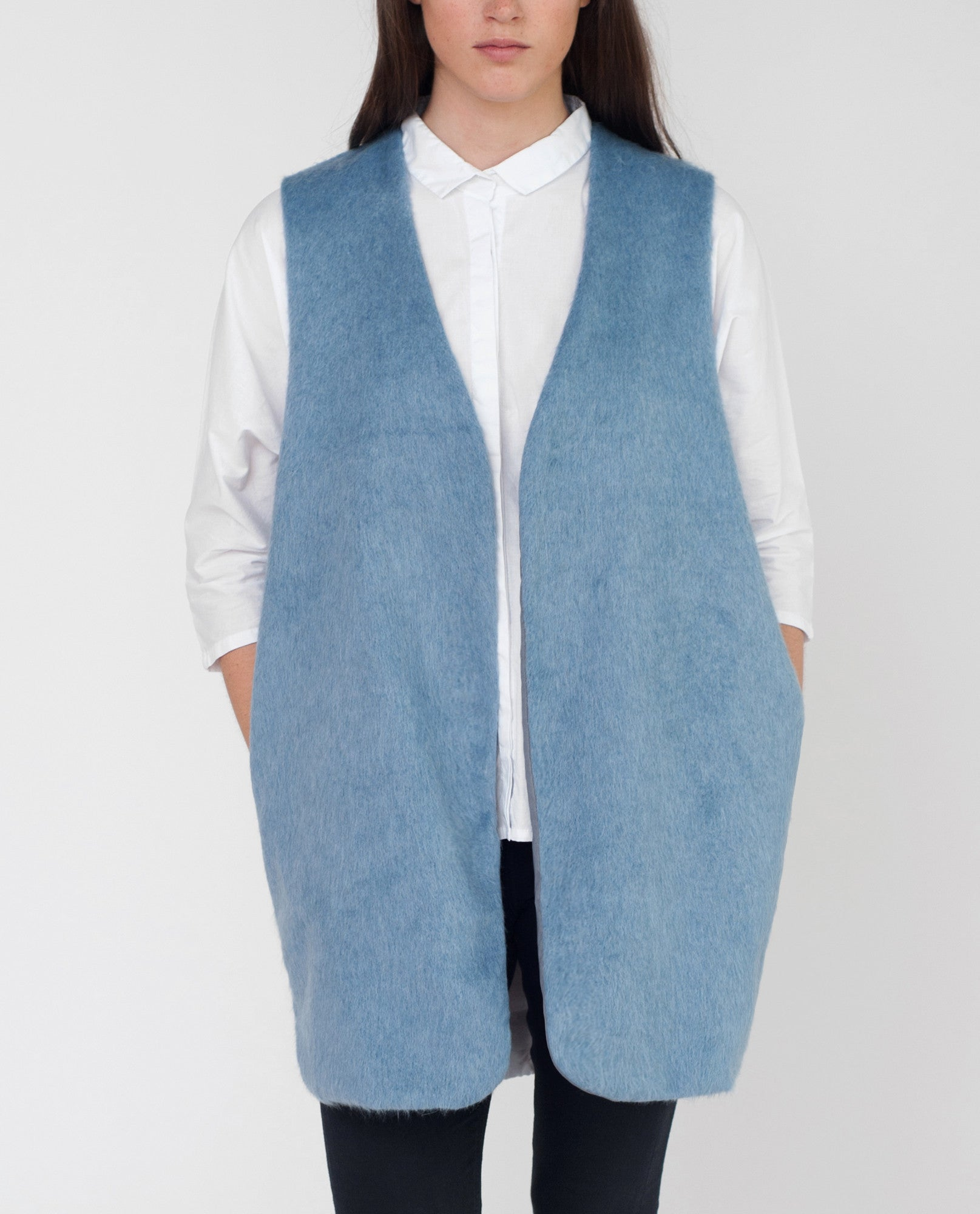 BRIA Faux Fur Gilet from Beaumont Organic