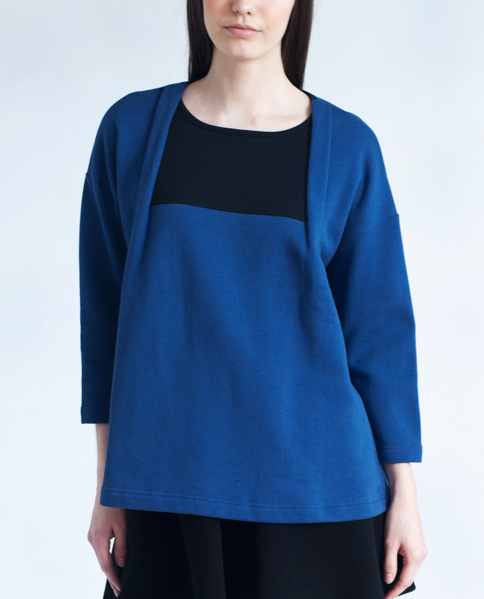 CARRIE Organic Cotton Insert Top In Cobalt