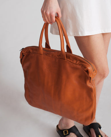 CASABLANCA Leather Shopper Bag
