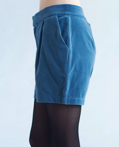 CASSANDRA Cotton Cord Shorts