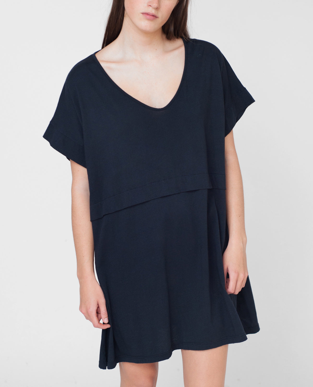 CHARLOTTE Organic Cotton Tunic Dress