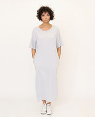CHRISTIE Organic Cotton Dress In Grey