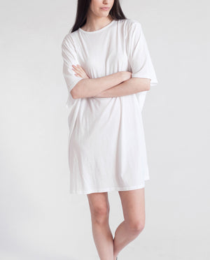 DAISY Organic Cotton Oversized Tshirt In White