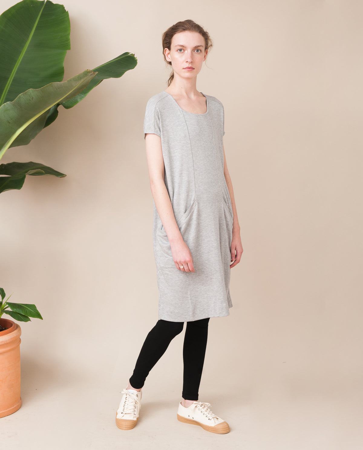 ELIZABETH Lyocell And Cotton Dress