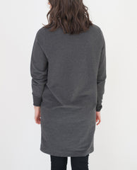 ELLIOT Organic Cotton Dress In Dark Grey
