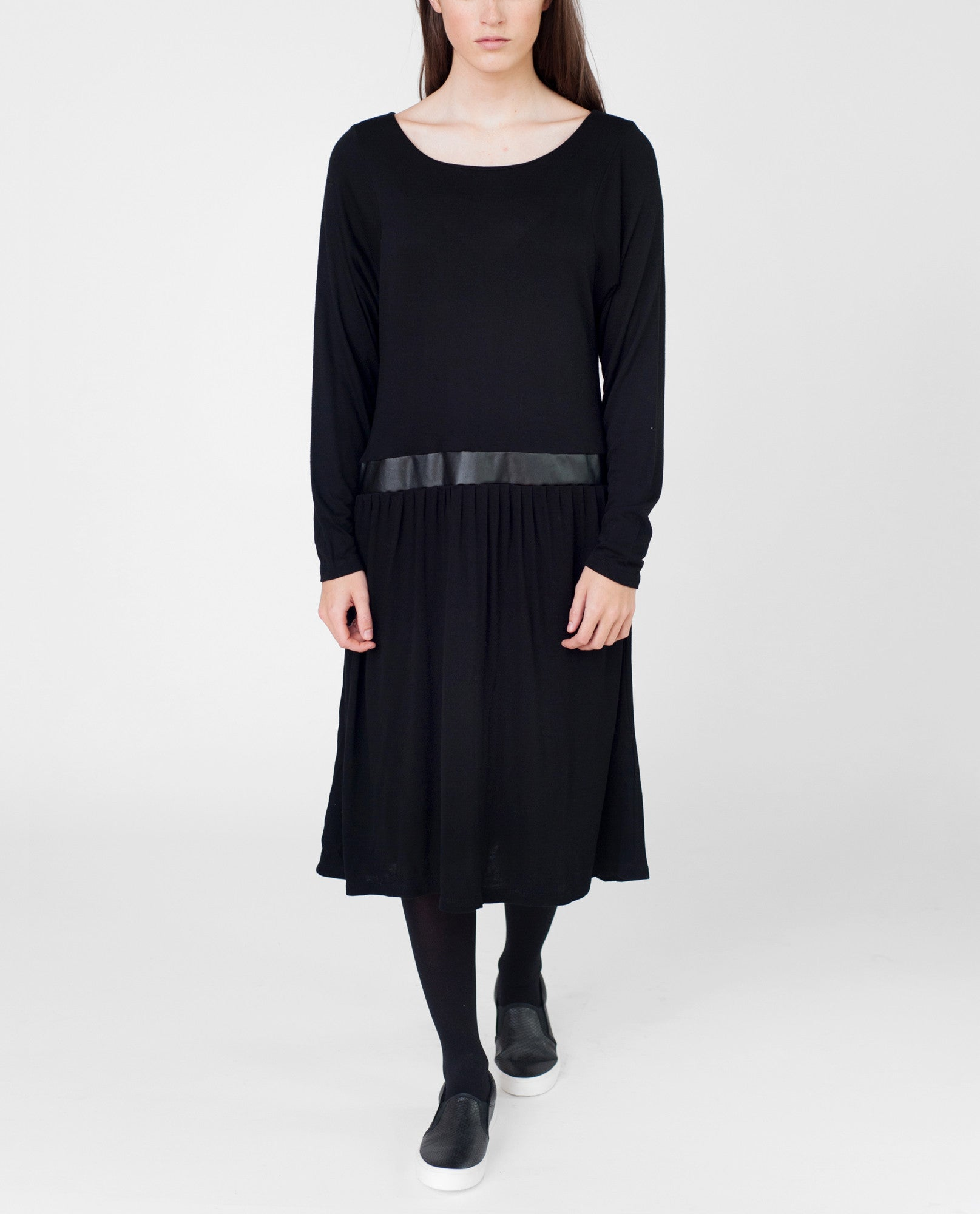 EMILY Bamboo Dropped Waist Dress from Beaumont Organic