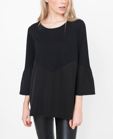 EZRA Organic Cotton And Tencel Top