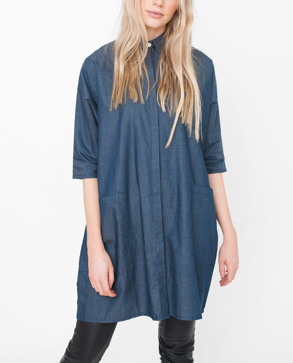 FELICITY Cotton Denim Shirt