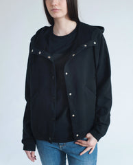FRIDA Organic Cotton Jacket In Black