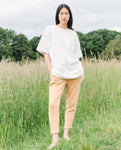 George Organic Cotton Trouser In Fawn