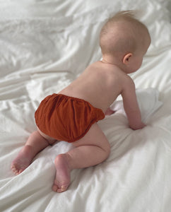 Gabriel Organic Cotton Knicker In Cinnamon