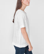 HELEN Linen Placket Top
