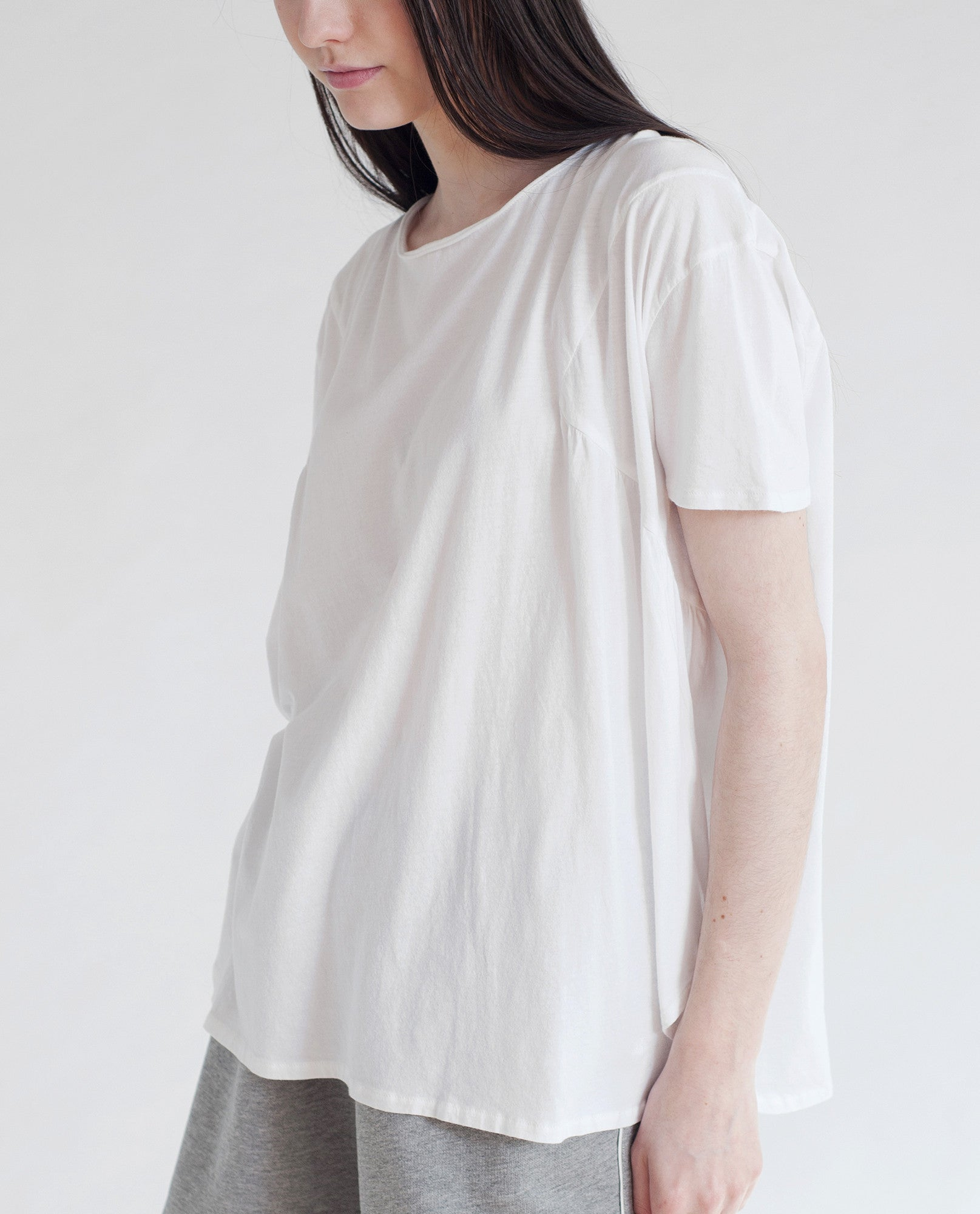 HOLLY Organic Cotton Top In White