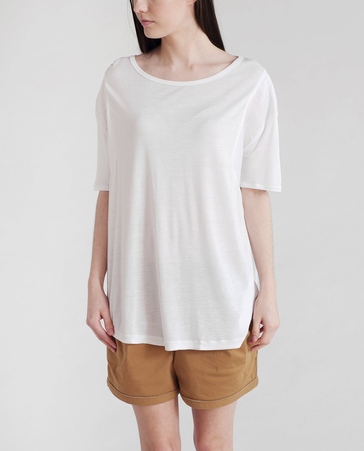 JACINTA Bamboo And Linen Top