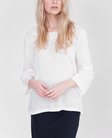 JADE Organic Cotton And Linen Top