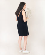 JANET Organic Cotton Dress In Deep Indigo