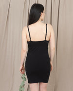 LANA Organic Cotton Slip In Black