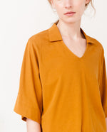 LIZ Organic Cotton Top In Rust
