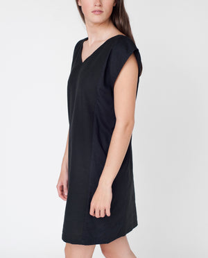 LIZZY Reversible Dress In Black